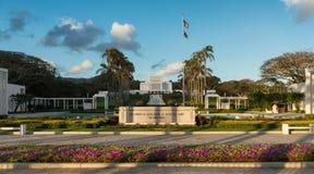 Висок Laie Гаваи стоковые изображения