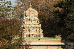 Висок Lakshmiramana Swamy на сумраке стоковая фотография