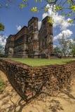 Висок Lankatilaka в Polonnaruwa, Шри-Ланка стоковое изображение