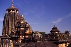 Висок Lingaraja, Bhubaneswar, Индия Стоковое фото RF