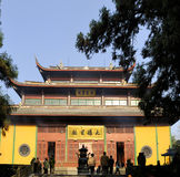 висок lingyin hangzhou фарфора конфуцианский Стоковое фото RF