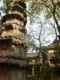 висок lingyin hangzhou стоковая фотография