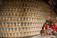 Висок Longxing СЛУЧАЯ (овца) Zhu виска Qianfoyan Стоковое Изображение