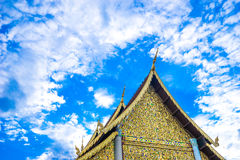 Висок luang Chedi в mai chiang Стоковые Изображения