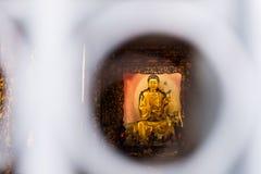 Висок Lungshan буддийский висок в районе wanhua, Тайбэе Стоковое Изображение