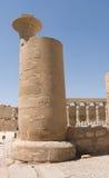 висок luxor karnak Египета колонки Стоковая Фотография