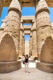 висок luxor karnak Египета Стоковое Фото