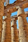 висок luxor karnak Египета Стоковое Изображение