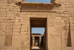 висок luxor karnak строба Египета Стоковое Изображение