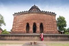 Висок Madanmohan, Bishnupur, Индия Стоковое Изображение