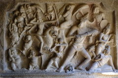 Висок Mahabalipuram Стоковое фото RF