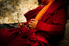 Висок Mahabodhi подвижника, Bodh Gaya, Индия Стоковые Фото