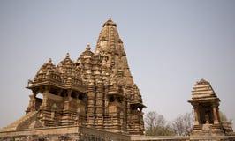висок mahadeva kandariya Стоковое Фото