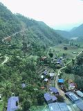 Висок/Manakamana Gorkha стоковое фото