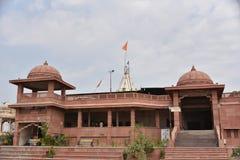 Висок Mangalnath, Ujjain, Madhya Pradesh Стоковые Фото