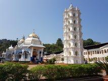 Висок Mangeshi в Goa стоковые изображения