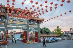 Висок Matsu гонга Puli Heng Ji стоковое изображение rf