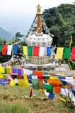 висок mcleod ganj dharamsala стоковая фотография rf