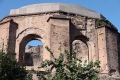 Висок medica Minerva в Риме стоковые фото