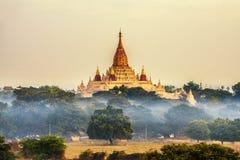 висок myanmar ananda bagan Стоковые Фото