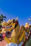 висок nagas короля chiangmai Стоковая Фотография RF