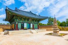 Висок Naksansa в Сокчхо, Южной Корее Стоковая Фотография