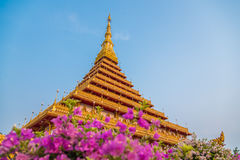 Висок Nong Wang, Таиланд Стоковые Фото