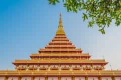 Висок Nong Wang, Таиланд Стоковое Изображение