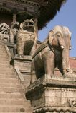 висок nyatapola bhaktapur Стоковые Фотографии RF