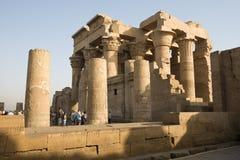висок ombo kom hor Египета стоковое фото
