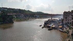Висок Omkareshwar mamaleshwar, madhyapradesh, Индия Стоковое Фото