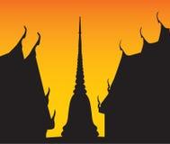 висок pagoda Стоковые Изображения