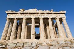 Висок Parthenon в Афиныы Стоковое фото RF