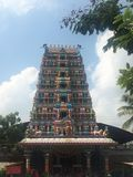 Висок Pedamma в Хайдарабаде, Индии Стоковая Фотография RF