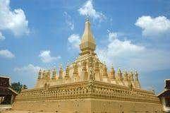 висок pha luang Лаоса Стоковые Изображения RF