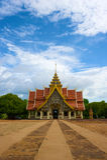 Висок pha tak phrabhudtabaht Wat, lampun, Таиланд Стоковая Фотография