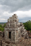 Висок Phnom Bakheng Hindhu, Siem Reap, Камбоджа Стоковые Изображения RF