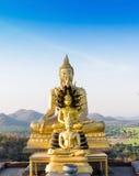 Висок Phrabuddhachay статуи Будды стоковое фото