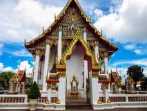 Висок Phuket Wat Chalong Стоковые Изображения