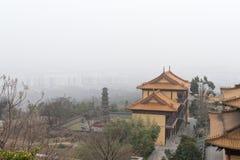 висок pnom pehn Камбоджи здания Стоковое Фото