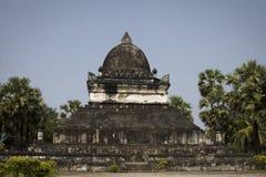 висок prabang luang Лаоса старый Стоковые Изображения