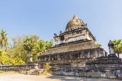 висок prabang luang Лаоса Стоковое Фото