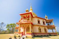висок prabang luang Лаоса Стоковые Изображения