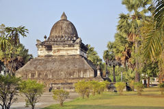 висок prabang luang Лаоса Стоковое фото RF