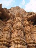 висок pradesh madhya khajuraho Стоковые Изображения