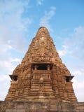 висок pradesh madhya khajuraho Стоковое Фото