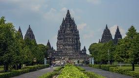 Висок Prambanan в Ява Стоковое фото RF