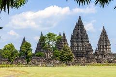 Висок Prambanan, Yogyakarta, Java, Индонесия стоковые изображения