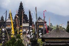 Висок Pura Besakih Balinese Стоковое Фото