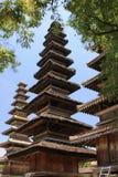Висок Pura Meru в Mataram, острове Lombok (Индонезия) стоковые фото
